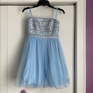 Cute! Sequin Hearts mini dress